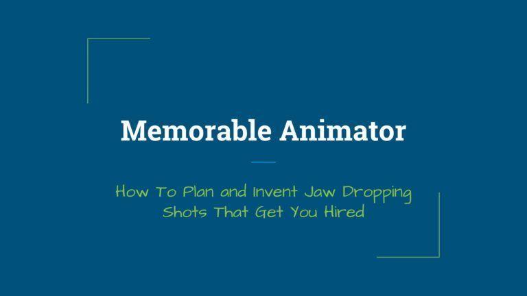 Memorable Animator