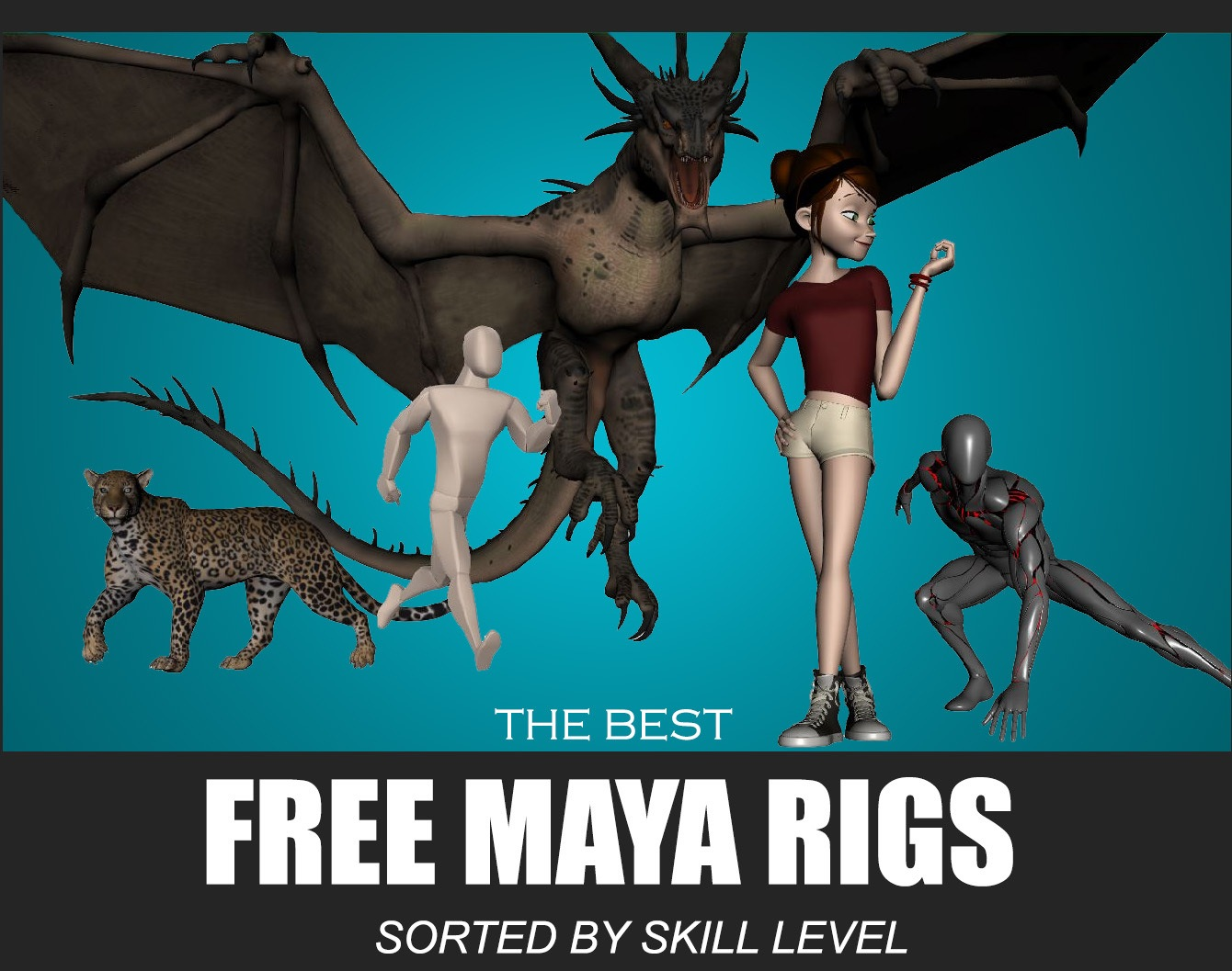 Free Maya Rigs – The Best Options For Your Skill Level