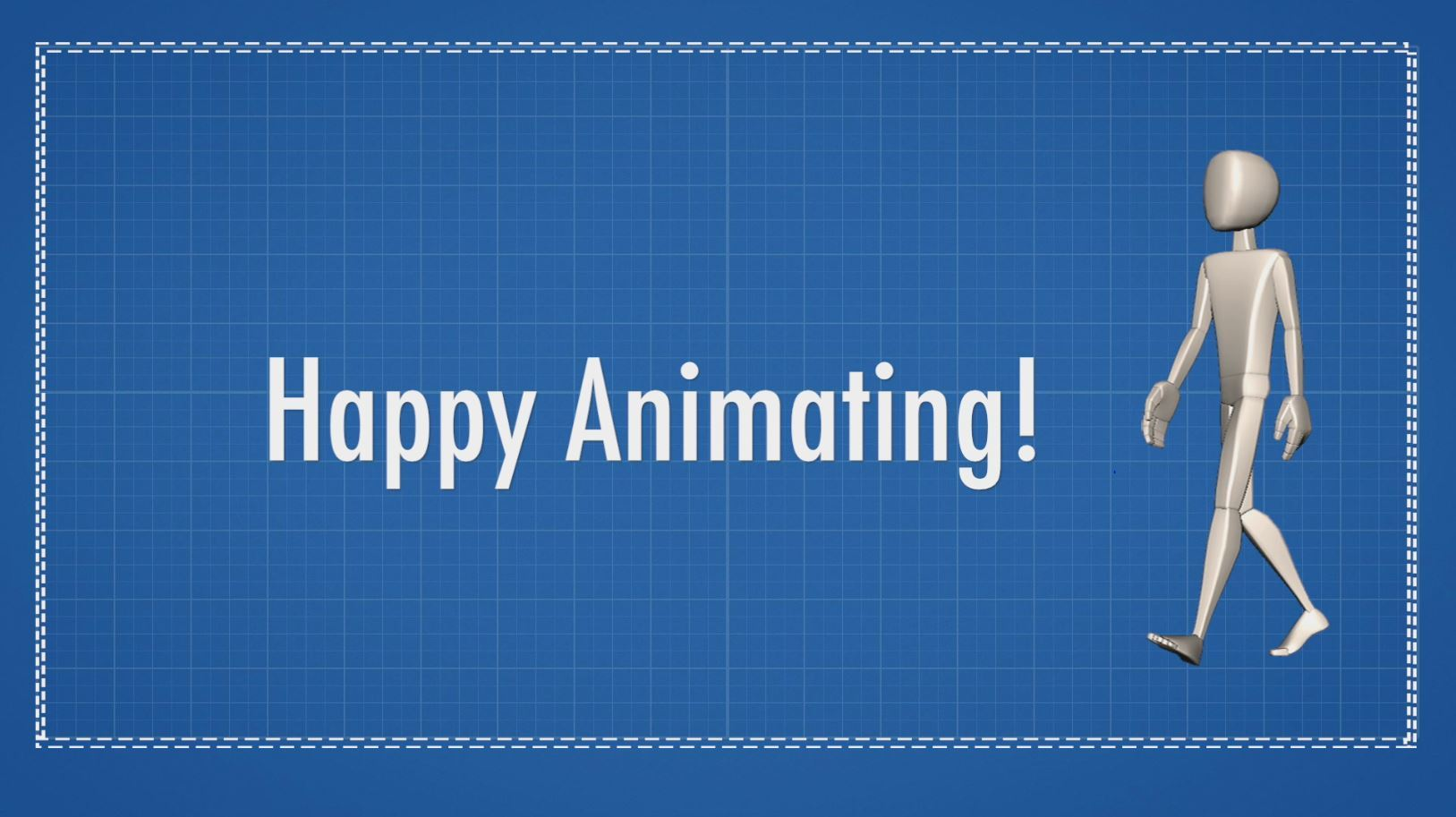 animation walk cycle happy animating