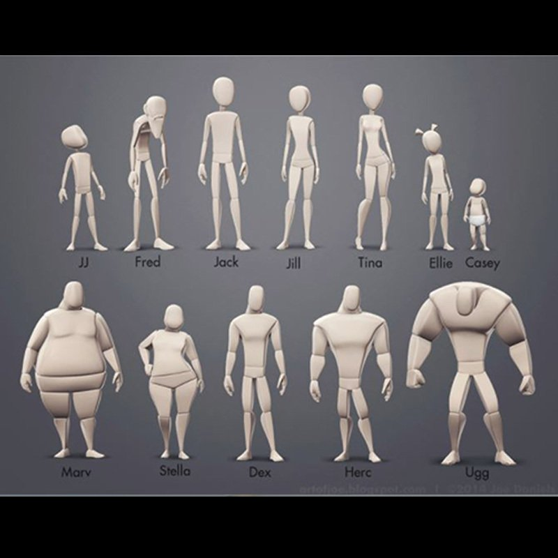 Free-Maya-Rigs-Body-Mechanics-Mega-Pack