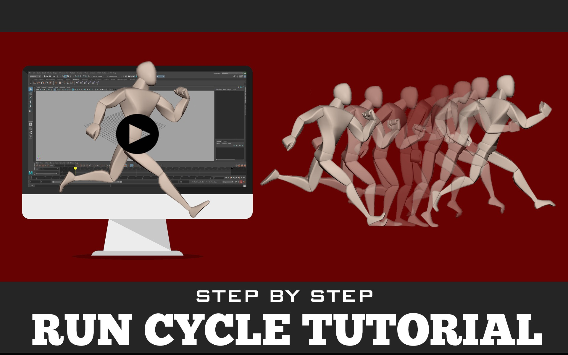 Run Cycle 3D Tutorial
