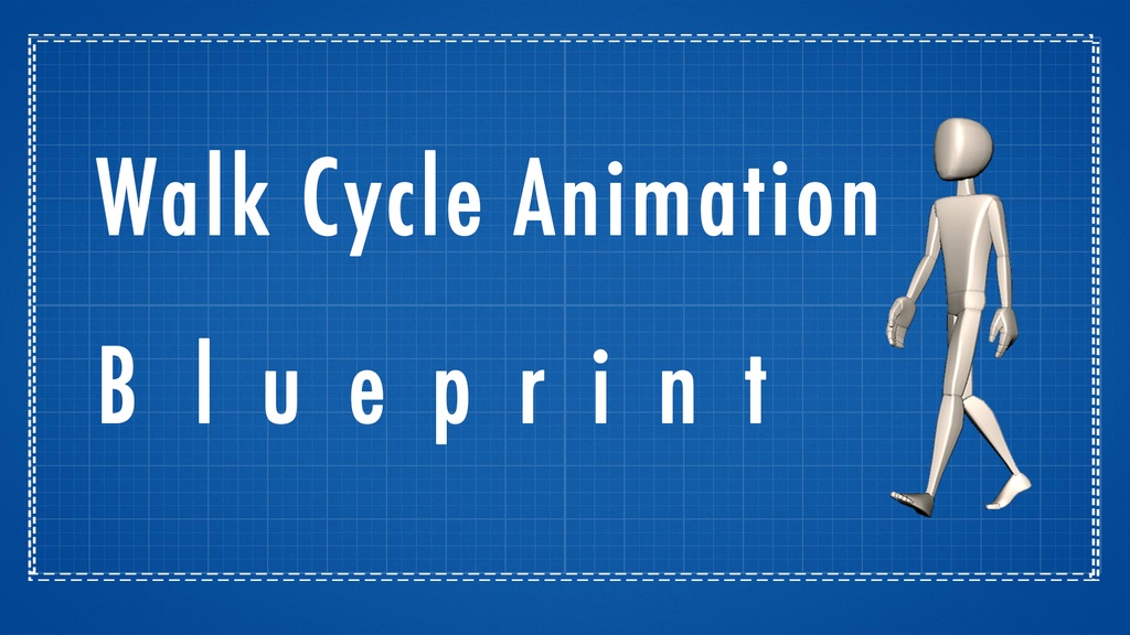 Walk cycle animation blueprint a how to tutorial rusty animator walk cycle animation blueprint malvernweather Choice Image