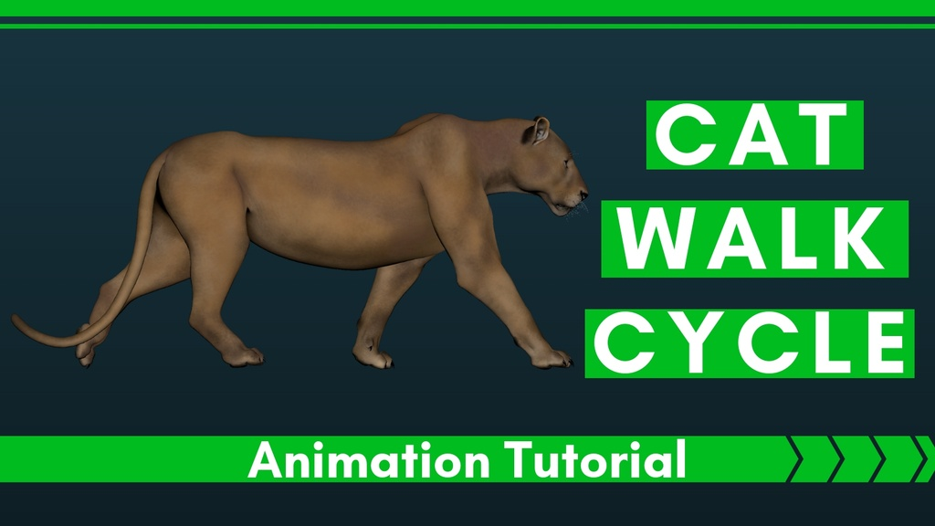 Cat-Walk-Cycle-Animation-Tutorial